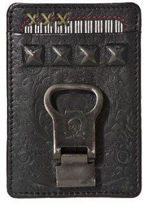Mark Ecko Leather Wallet with Bottle opener $32.00